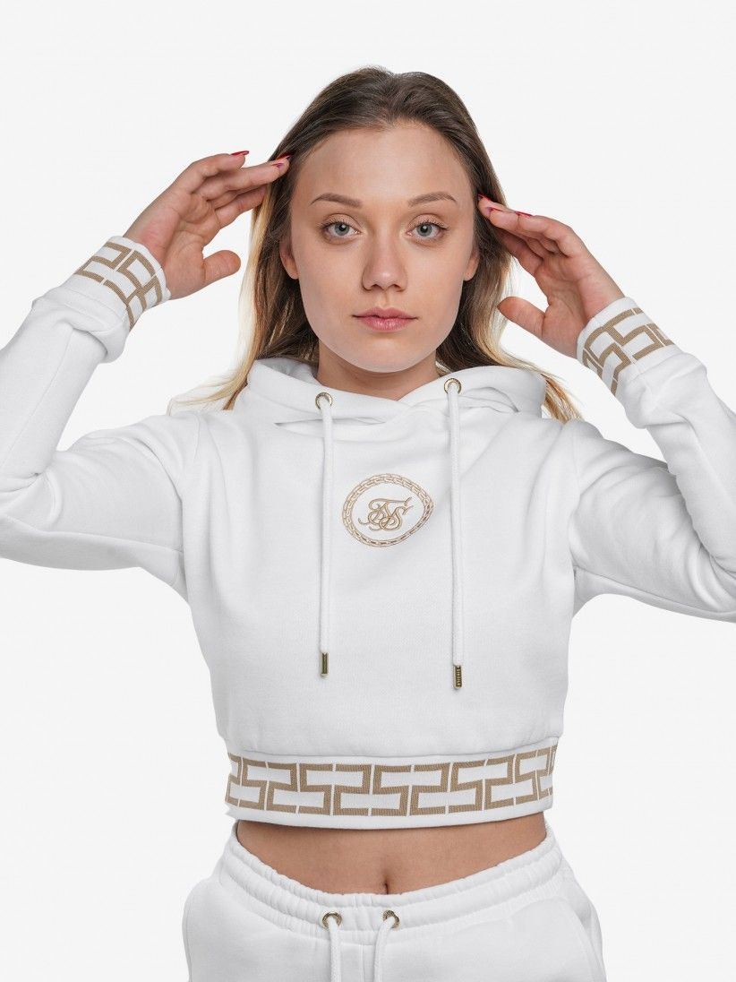 Siksilk Cropped Sweater