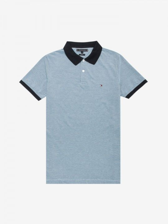 Tommy Hilfiger Contrast Polo Shirt