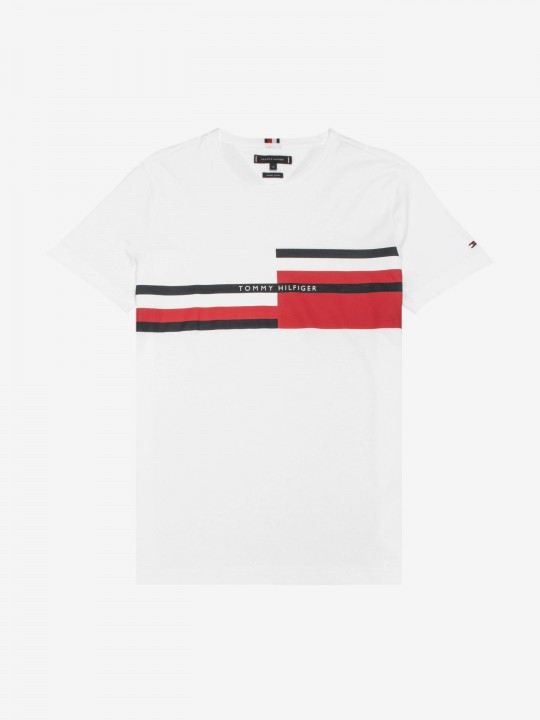 Tommy Hilfiger Abstract Stripe T-Shirt