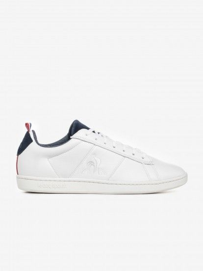 Le Coq Sportif Court Classic Denim Sneakers