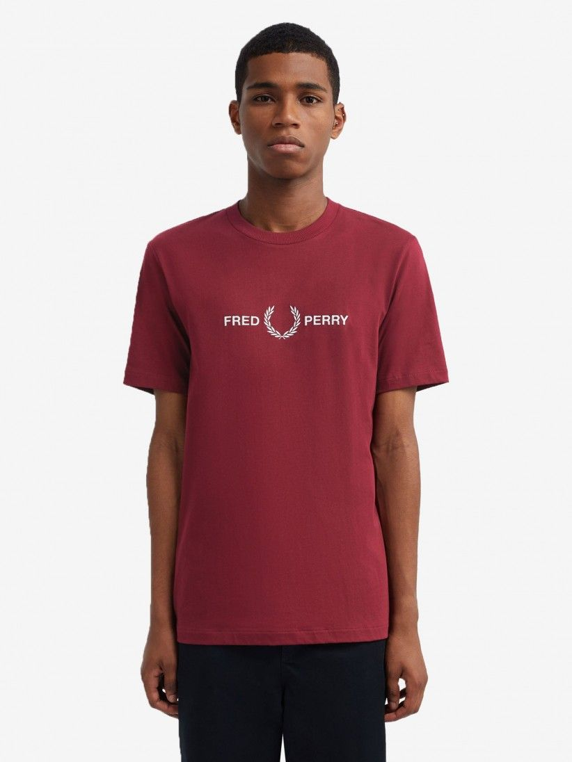 T-Shirt Fred Perry Graphic