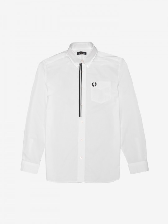 Camisa Fred Perry Taped Placket