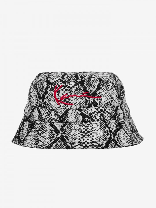 Karl Kani Signature Snake Bucket Hat