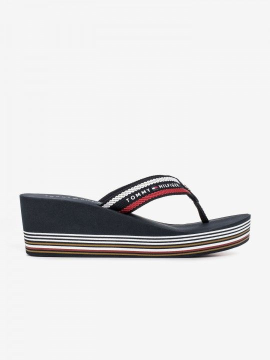 Chanclas Tommy Hilfiger Signature Rope Embroidery Stripe