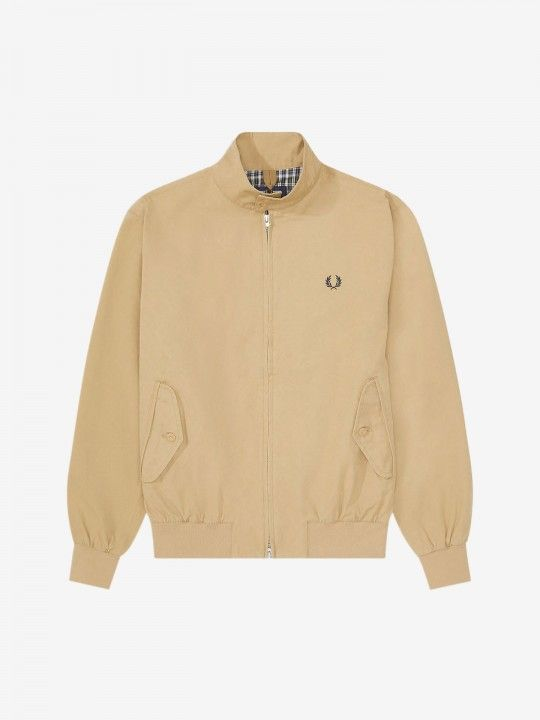 Chaqueta Fred Perry Check Lined Harrington