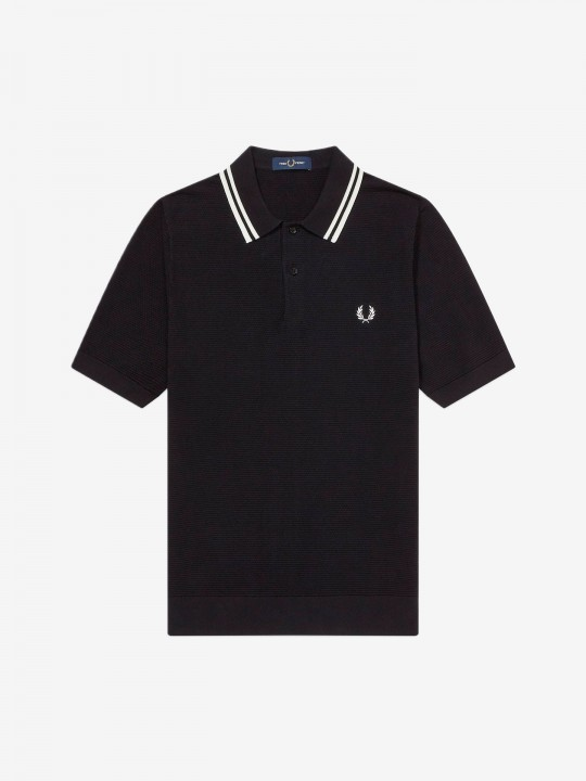 Polo Fred Perry Textured Knit