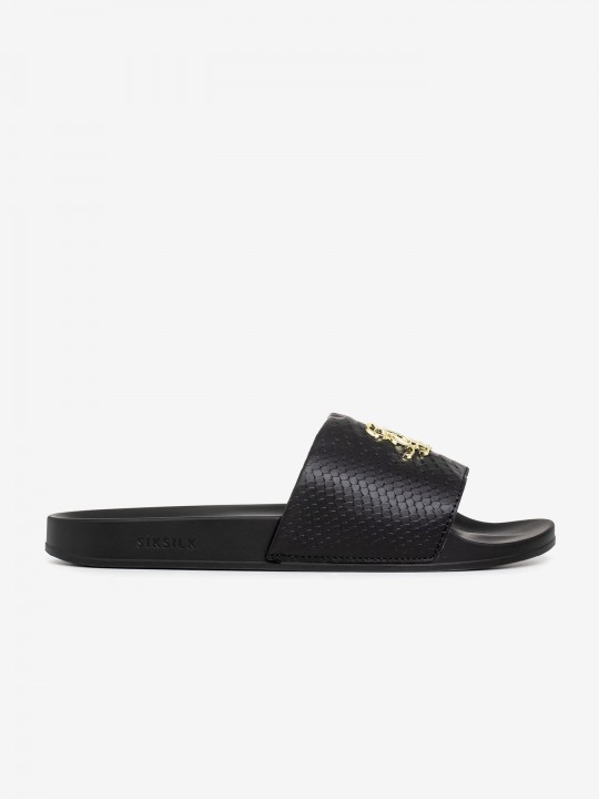 SikSilk Roma Lux Anaconda Slides