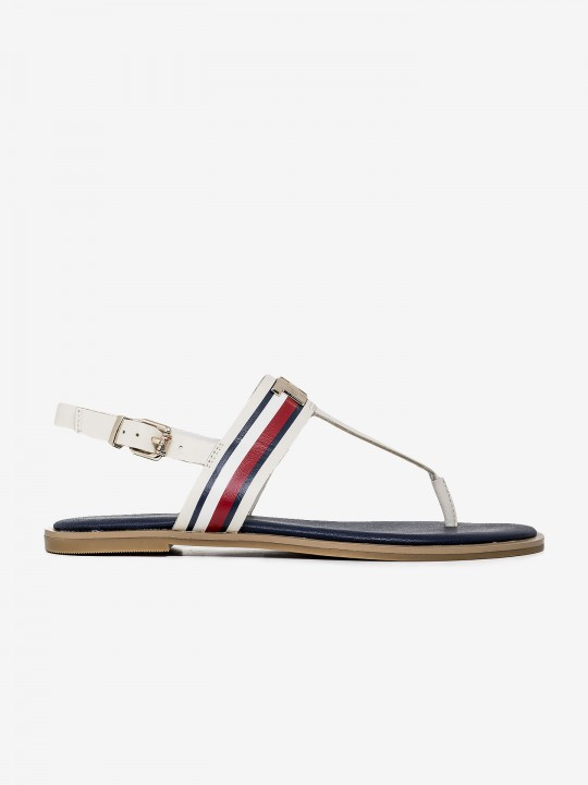 Tommy Hilfiger Signature Leather Sandals