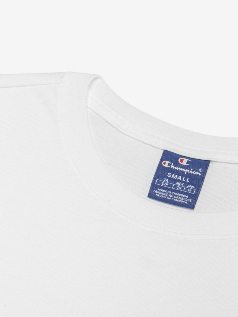 T-shirt Champion Cropped Script Logo