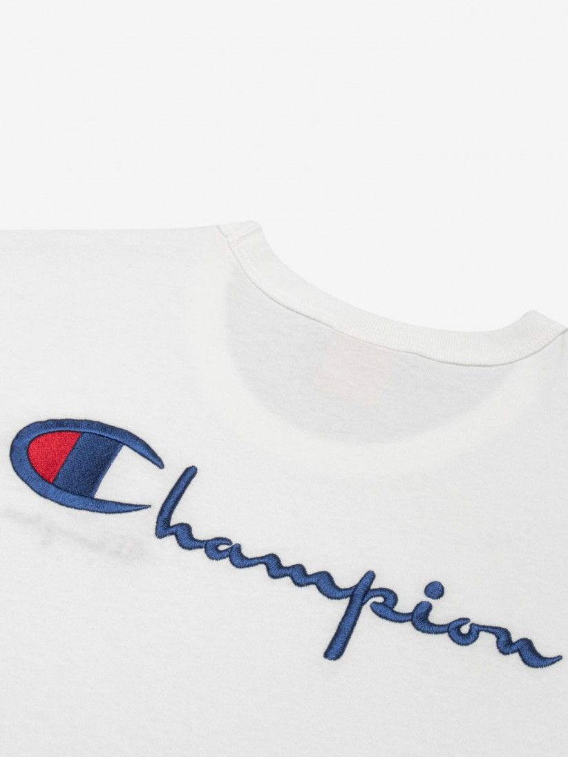 T-Shirt Champion Script Back Logo