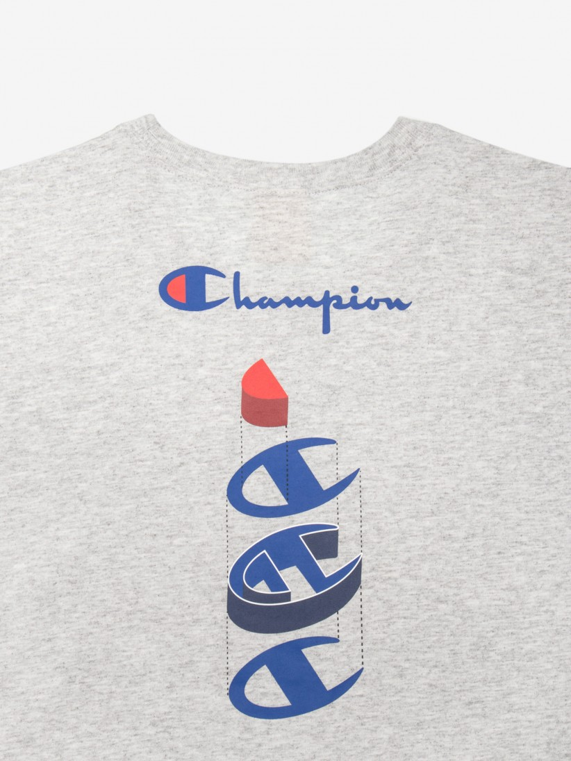 T-shirt Champion Deconstructed Logo