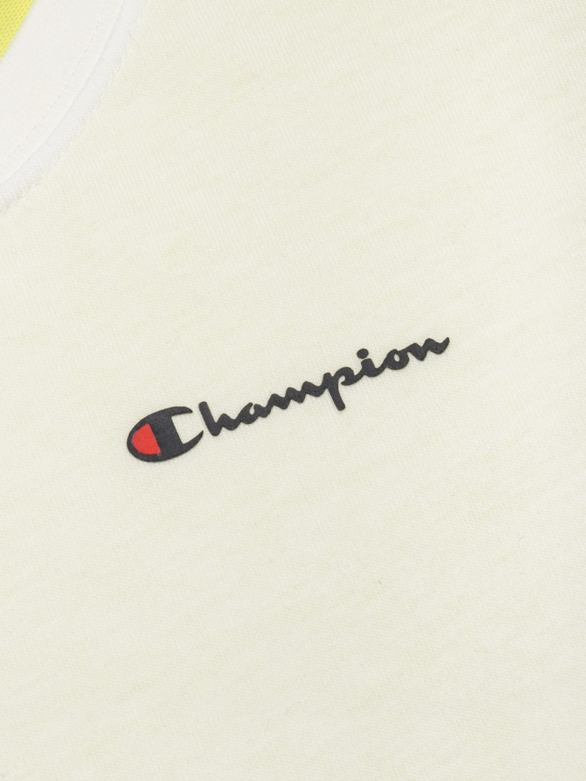 Champion Colour Block Jacquard Logo T-shirt