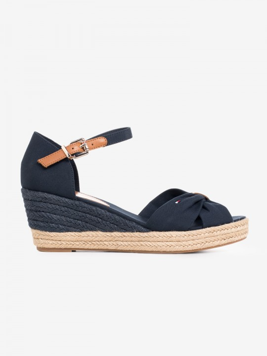 Tommy Hilfiger Ankle Strap Crossover Sandals