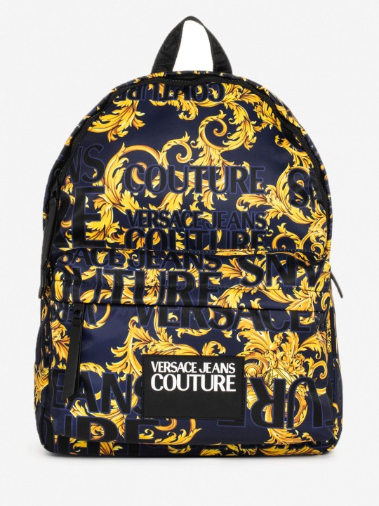 Versace Linea Logo Baroque Backpack