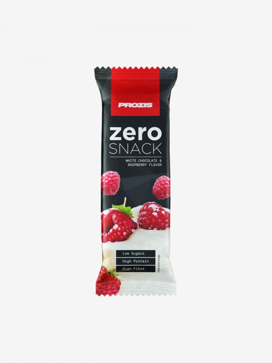 Prozis Zero Bar 35 g - White Chocolate & Raspberry