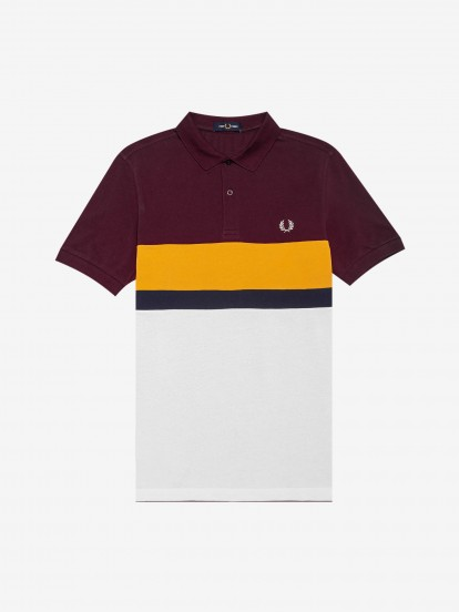Fred Perry Block Pattern Polo