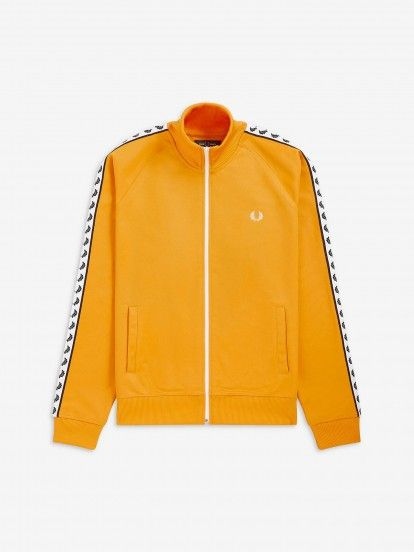 Fred Perry Sports Authentic Taped Track Jacket