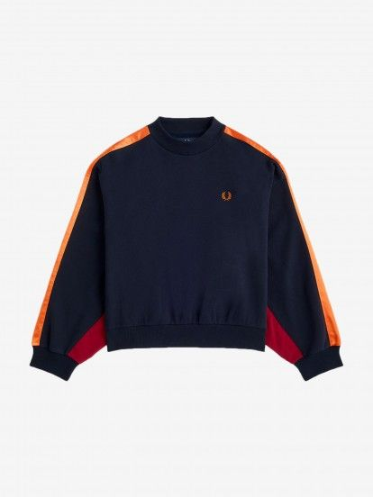 Fred Perry Multi Panel Sweater