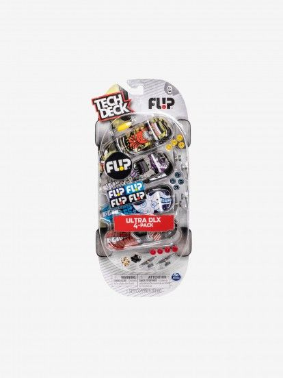 Fingerboards Tech Deck Miniature Skate x4
