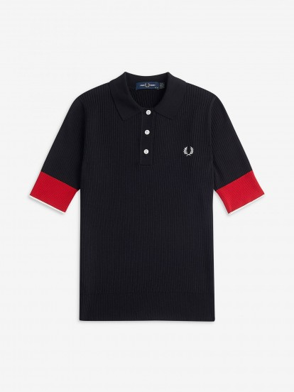 Fred Perry Contrast Cuff Polo