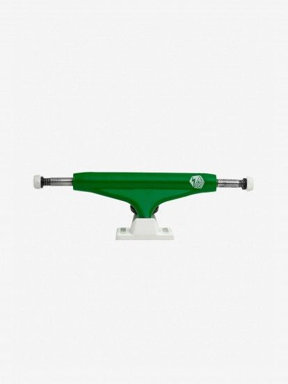 TRUCKS INDUSTRIAL GREEN WHITE 5.25""