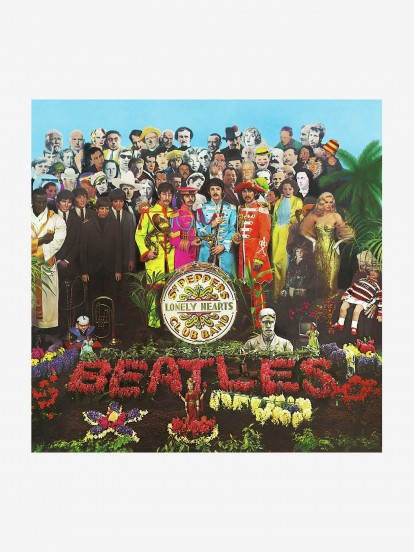 Disco de Vinil The Beatles - SGT Pepper's Lonely Hearts Club Band