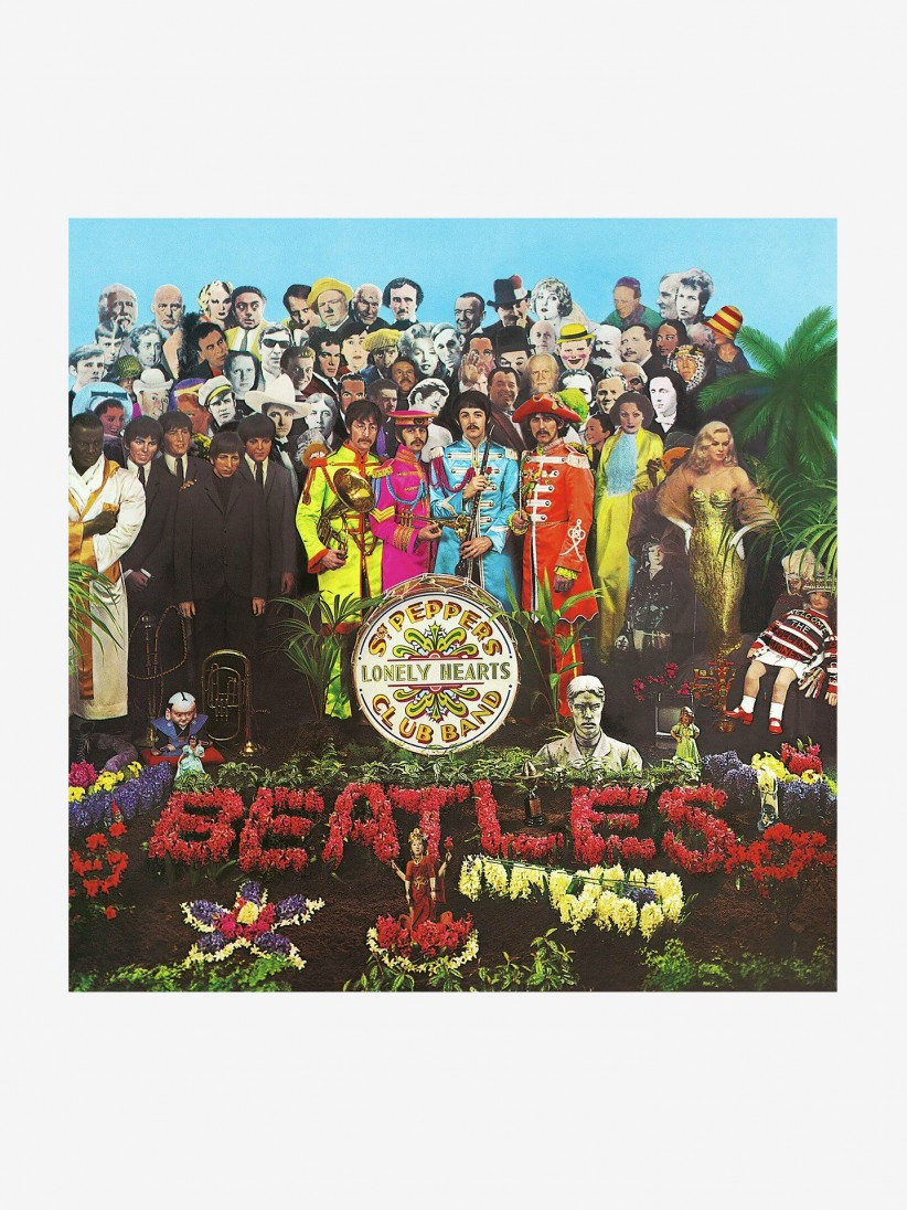 Disco de Vinilo The Beatles - SGT Pepper's Lonely Hearts Club Band