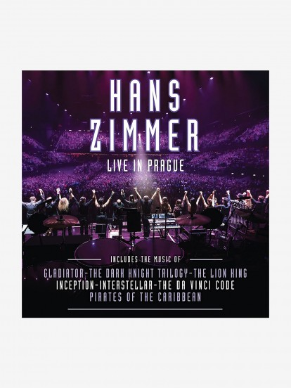 Disco de Vinilo Hans Zimmer: Live In Prague Coloured