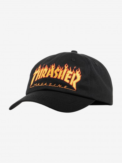 Thrasher Flame Old Timer Cap