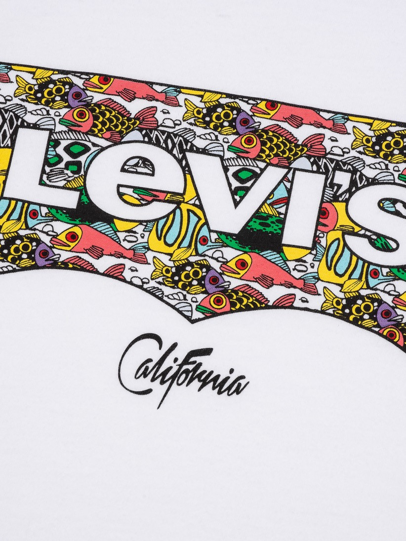 T-shirt Levis Housemark Graphic