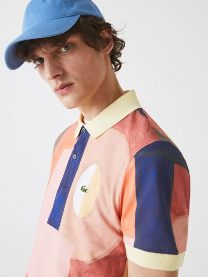 Lacoste Color Block Polo