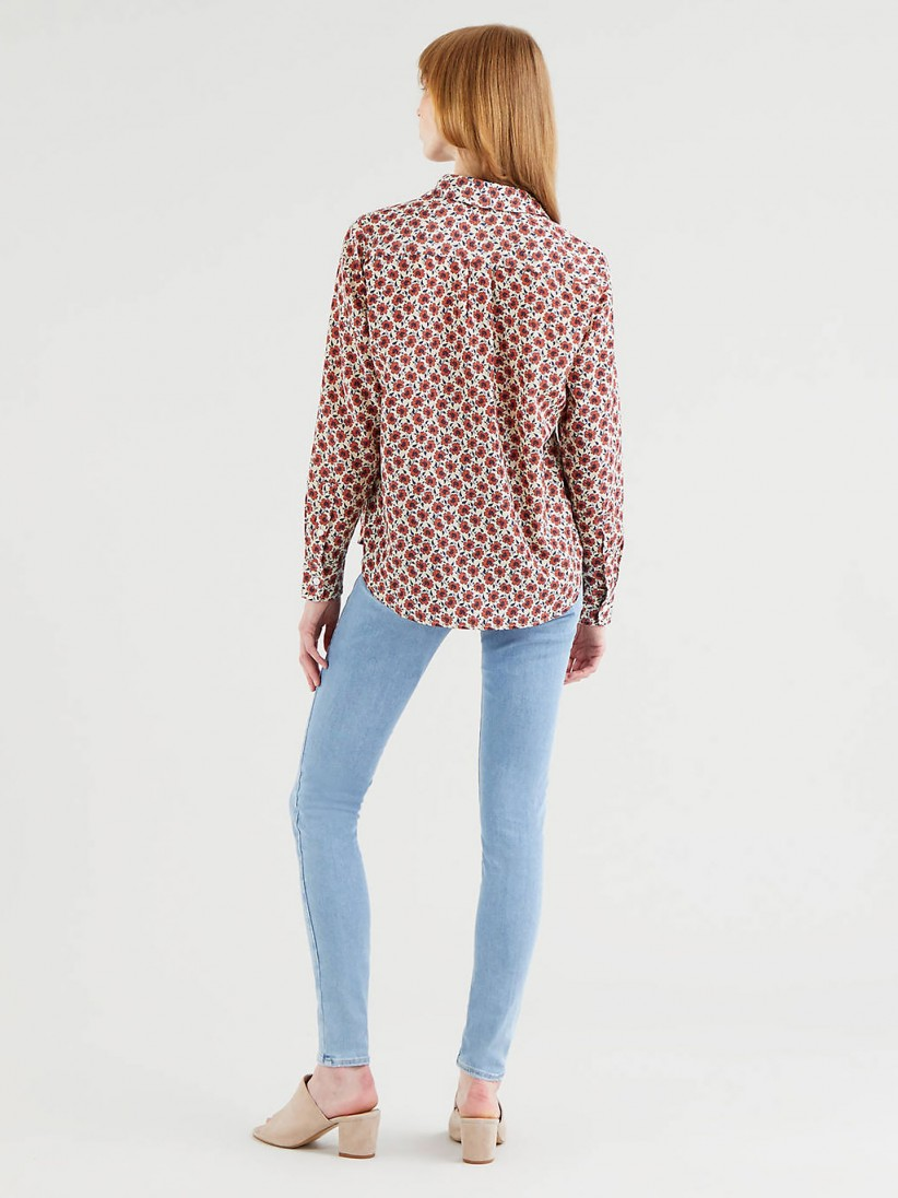 Levis Small Folksy Floral Shirt