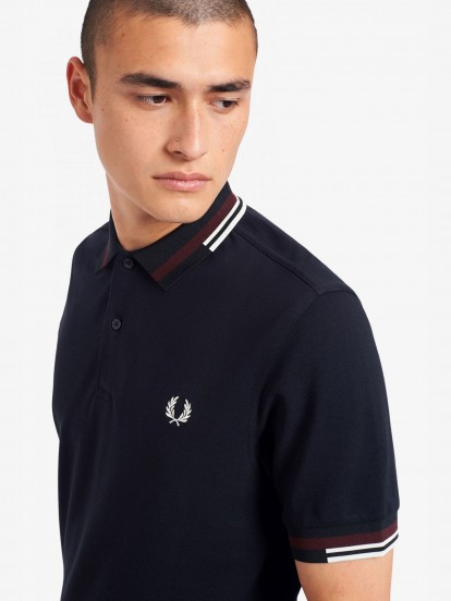 Fred Perry Abstract Polo