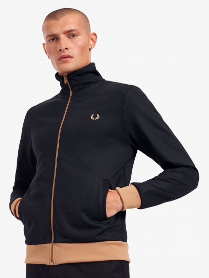 Fred Perry Contrasting Laurel Jacket