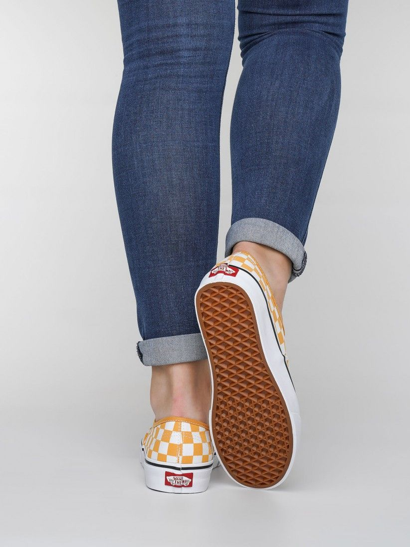 Vans Checkerboard Authentic Sneakers