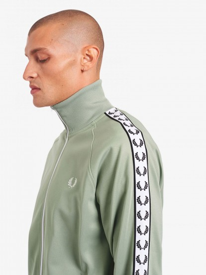 Fred Perry Sports Authenitc Taped Track Jacket