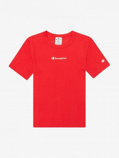 Champion Ribbed Script Logo T-shirt