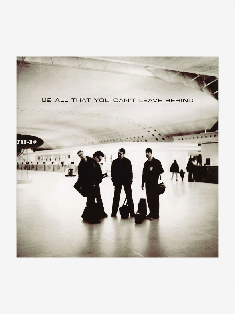Disco de Vinilo U2 - All that you can´t leave behind