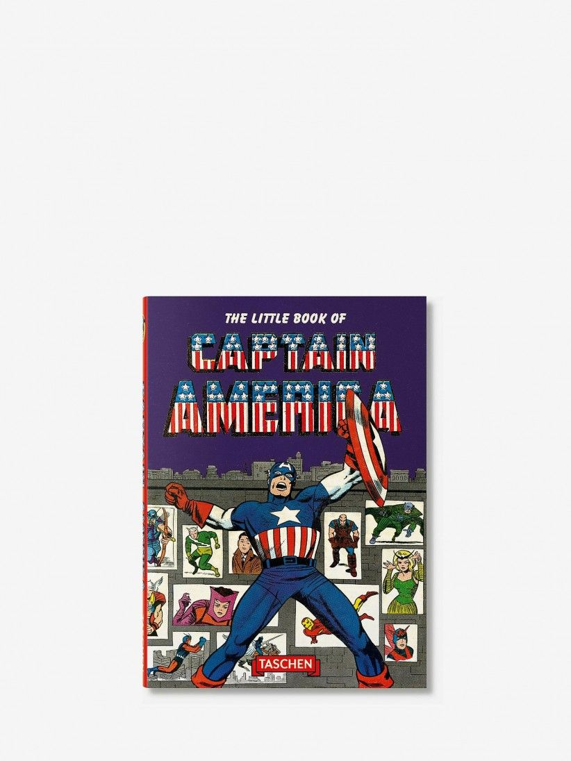 Roy Thomas - The Little Book of Captain America Book