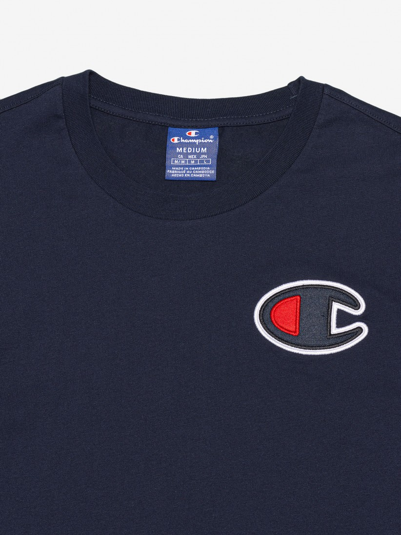 Champion Satin Logo T-shirt