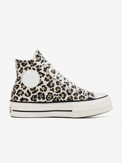 Converse Chuck Taylor All Star High Top Leopard Sneakers