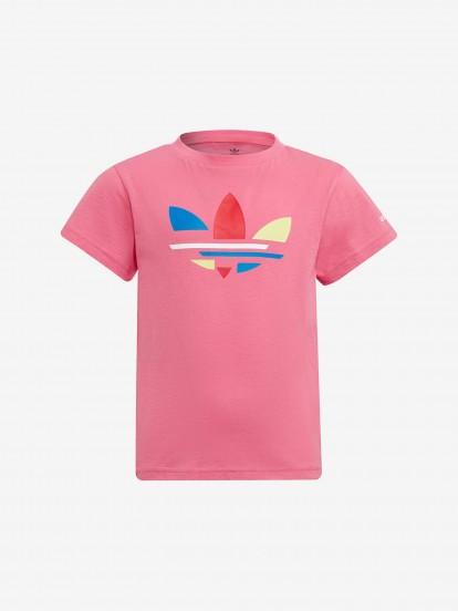 Camiseta Adidas Adicolor Deconstructed Trefoil