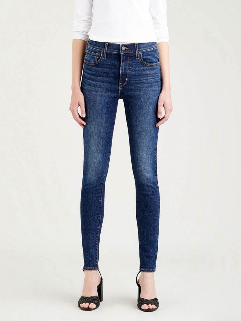 Levis 720 High Rise Super Skinny Trousers