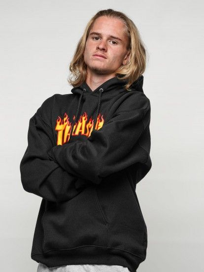Thrasher Flame Mag Sweater