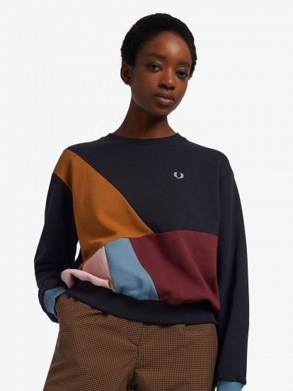 Sudadera Fred Perry Colour Blocking