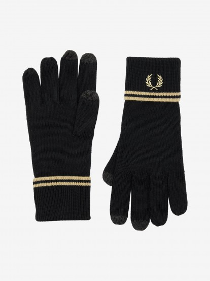 Guantes Fred Perry Woolly