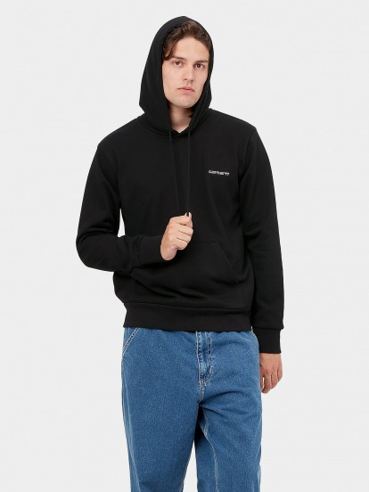Carhartt Hooded Script Embroidery Sweater